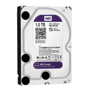 1 ТБ Жесткий диск Western Digital WD Purple IntelliPower (WD10PURX)