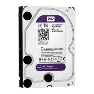 3 ТБ Жесткий диск Western Digital WD Purple IntelliPower (WD30PURX)