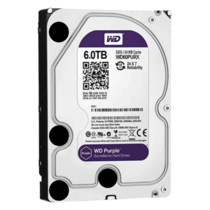 6 ТБ Жесткий диск Western Digital WD Purple IntelliPower (WD60PURX)