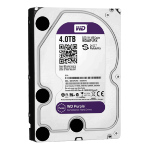 4 ТБ Жесткий диск Western Digital WD Purple IntelliPower (WD40PURX)