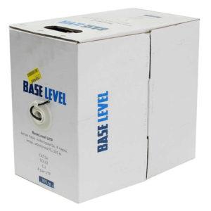 Кабель Stabnet/BaseLevel, витая пара 5e, 4 пары, SOLID медь, оболочка PVC – 1м