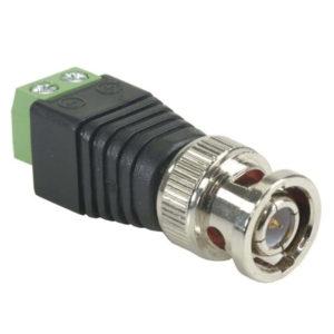 BNC разъем под винт, коннектор для видеонаблюдения (AHD/TVI/CVI/Аналог)