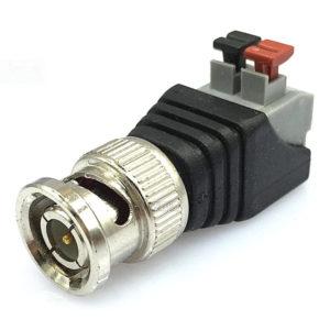 Коннектор Rexant BNC (быстрозажимной разъем), штекер для камер видеонаблюдения AHD/TVI/CVI/Аналог