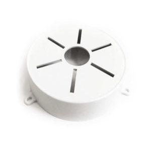 Монтажная коробка универсальная, для купольных камер (внутр., пластик, круглая, 14см х 3см)