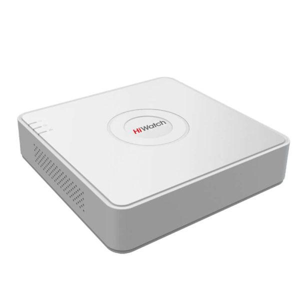 HiWatch DS-H208Q (Видеорегистратор HD-TVI/AHD/CVBS/IP 4мп, 8+2 канальный, гибридный)