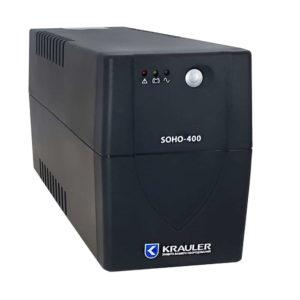 ИБП Krauler 400Ва (240Вт), 4 розетки IEC320 + USB (бесперебойный блок, с защитой от перенапряжения)