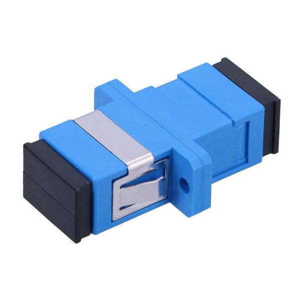 Адаптер проходной оптический SC/UPC — SC/UPC SM (розетка)