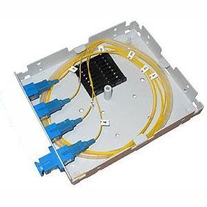 Оптический кросс комплект (1 порт SC/UPC) бокс, адаптер, пигтейл, КДЗС