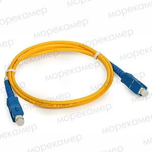 Патч-корд оптический SC/UPC-SC/UPC, 1м