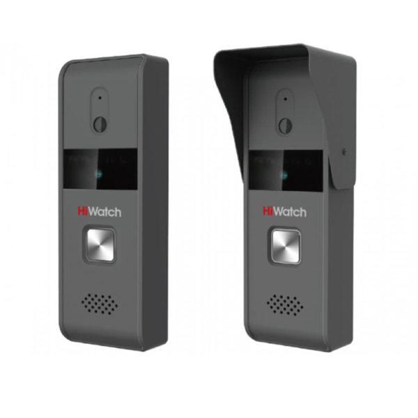 HiWatch DS-D100K комплект (видеодомофон 7″ + вызывная панель с камерой)