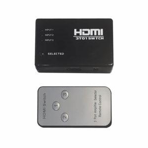 Разветвитель/сплиттер HDMI FullHD HDTV/PS3/DVD (на 3 потребителя) + пульт