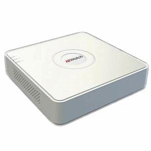 Hiwatch DS-H208Q, гибридный видеорегистратор 8-канальный (1080p)